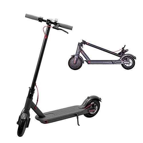 Scooter eléctrico para adultos y niños, 350W potente motor de batería con control de aplicación, pantalla LCD, 3 modos de velocidad, resistencia de 20 a 35 km y velocidad máxima de hasta 25 km/h