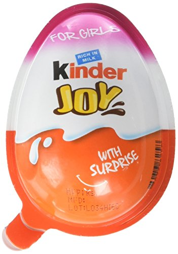 Chocolate Kinder Joy for Boys with Surprise Inside (9-Pack)