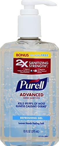PURELL Advanced Hand Sanitizer Refreshing Gel Pump Bottle - 8 fl oz