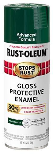 Rust-Oleum 345391 Stops Rust Advanced Spray Paint, 12 Ounce (Pack of 6), Gloss...