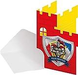 Folat NEU Einladungen Ritter & Wappen