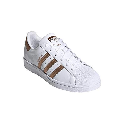 adidas Superstar - Zapatillas deportivas para mujer, color Blanco, talla 40 2/3...
