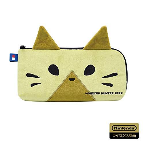 【任天堂ライセンス商品】モンスターハンターライズ ハンドポーチ for Nintendo Switch オトモアイルー【Nintendo Switch対応】