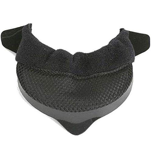 HJC FG-17 Chin Curtain Street Motorcycle Helmet Accessories - Black/One Size