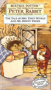 The World of Peter Rabbit and Friends: The Tale of Mrs. Tiggy-Winkle and Mr. Jeremy Fisher [VHS]