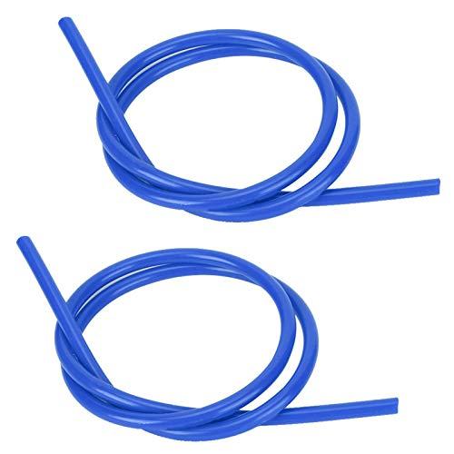 Azul, negro, rojo, confiable, 2 piezas, núcleo de carburo, alambre de encendido de alta resistencia para automóvil(blue)