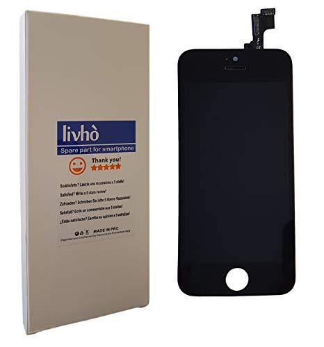 livhò® Scherm LCD Zwart compatibel met iPhone SE/Display LCD + Touchscreen