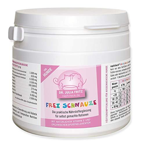 napfcheck Frei Schnauze - für Hausgemachtes und Alleinfutter ohne Zusatzstoffe- für Hunde - 300 g