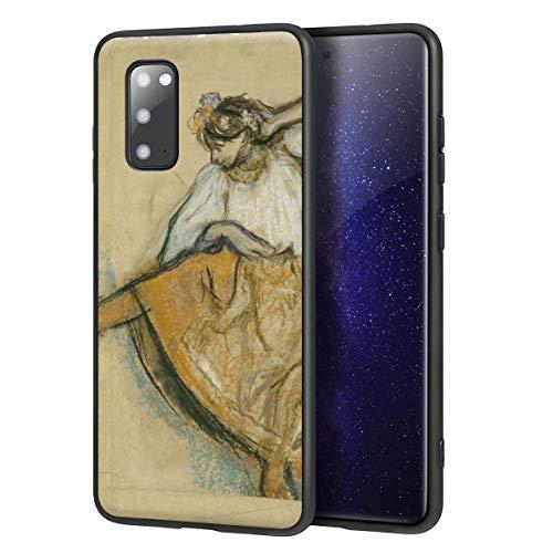 Berkin Arts Edgar Degas Custodia per Samsung Galaxy S20/Custodia per Cellulare Art/Stampa giclée UV sulla Cover del Telefono(El bailarín Ruso)