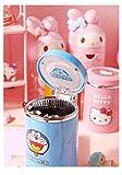 Hello Kitty Luminescence Pocket Ashtrays Portable Ashtray Outdoor for Vehicle Car Accessories Night Lights Function Ashtray,Doraemon
