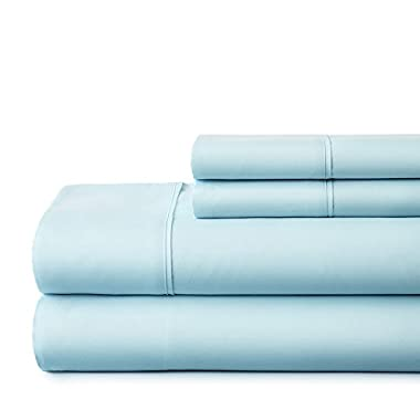 ienjoy Home Hotel Collection Luxury Soft Brushed Bed Sheet Set, Hypoallergenic, Deep Pocket, King, Aqua