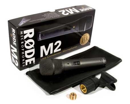 Rode M2 Kondensatormikrofon für Live-Vocals