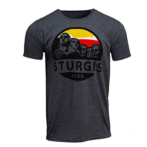 Harley-Davidson 2020 Sturgis Men's Mt Rushmore Journey 80th Rally T-Shirt (Large) Navy
