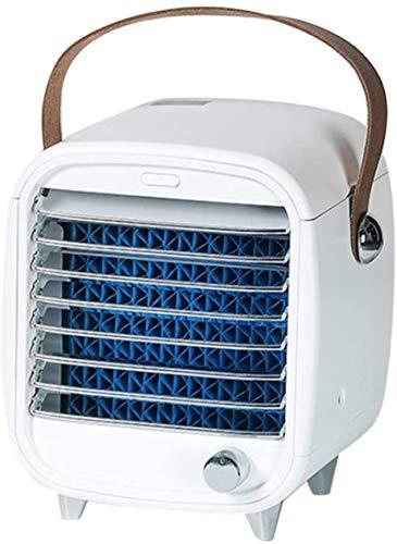 Humidificador de dosel, humidificador de niebla fría, regalo, mini aire acondicionado de escritorio, ventilador, purificación de aire, humidificador de aire evaporativo silencioso, purificador, mini v