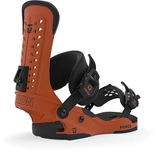Union Force Snowboard-Bindung, Herren, Größe M (36-38), Burnt Orange