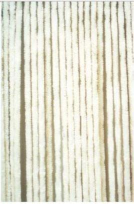 Moritz Flauschvorhang aus Chenille 56 x 185 cm weiß Elfenbein Türvorhang als Fliegenschutz Insektenschutz für Camping Wohnwagen