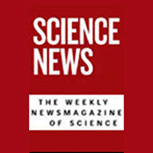 Science News, January 2, 2010 audiobook cover art
