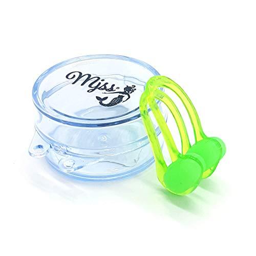 MJSS Nasenklammer Nose Clip Schwimmen tauchen grün