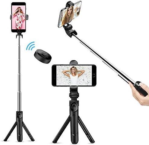 Selfie Stick Bluetooth Doosl Selfie Stick Tripod Extendable Tripod Stick with Remote Facetime product image