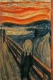 Edvard Munch Der Schrei Berühmte Leinwand Kunst Gemälde