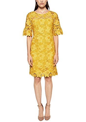 Vestido amarillo de fiesta para mujer