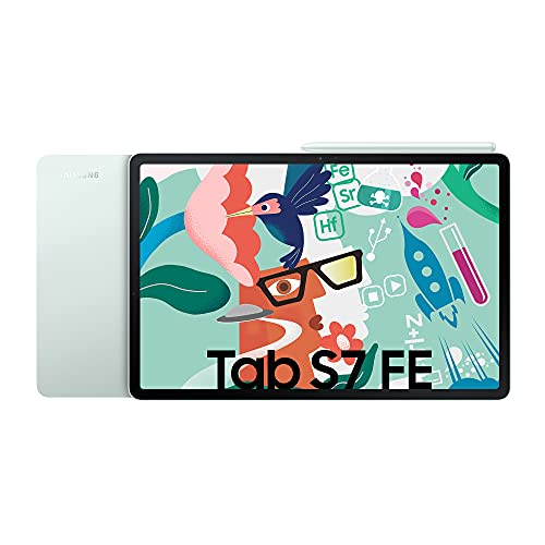 Tablet Android Wi-Fi Samsung Galaxy Tab S7 FE 12,4 pollici, Mystic Green