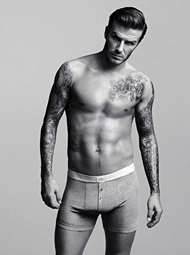 Impresión de póster de futbolista David Beckham (A4, se envía en 24horas de primera clase