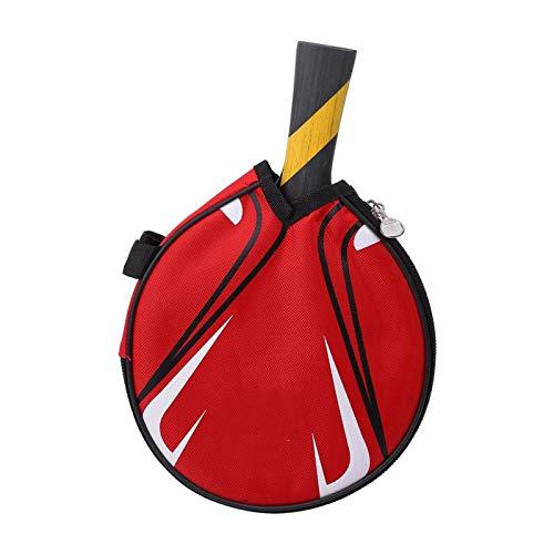 DAUERHAFT Paleta de Ping Pong Paleta de Ping Pong Profesional Paleta de Ping Pong con Estuche de Transporte Raqueta de Tenis de Mesa Profesional Robusta y Duradera para Jugar en Interiores al Aire
