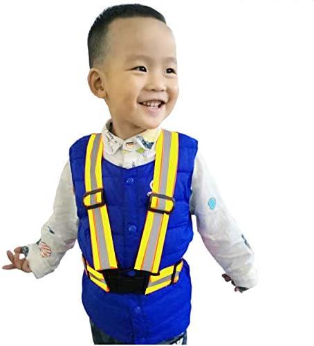 Sale price Yerwal Small Children's Safety Reflective Cash special price Vest Gea Running Night