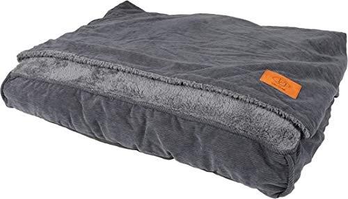 Hondenkussen slaapzak TOBY S - 80x60x15cm grijs