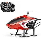 SXLCKJ Helicóptero RC 2 canales helicóptero con luz LED Gyro para interior mini helicóptero RC juguete regalo para adolescentes y adultos, helicóptero (avión inteligente)