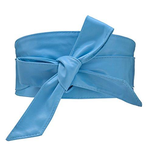 Cityelf Cinturon de Cuero sintetico de la correa de cintura para Mujer los vestidos Ancho Amplia Cintura Cinturón