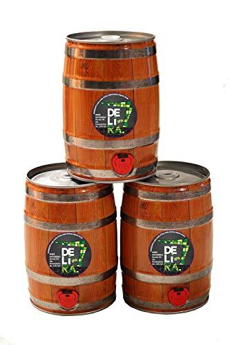 Birra Artigianale Cruda Italiana DELìRA IPA - Fusto 5 Litri - Prodotta da I.C.B. Italian Craft Brewery (3)