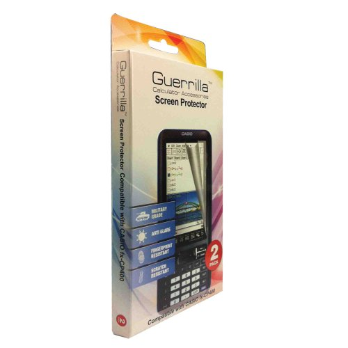 Guerrilla Military Grade Screen Protector for Casio Classpad Graphing Calculator, 2-Pack Photo #2