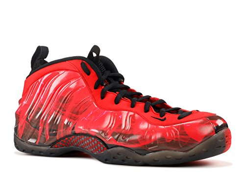 "Nike Mens Air Foamposite One PRM DB ""Doernbacher"" Challenge Red/Black Synthetic Basketball Shoes Size 10.5"