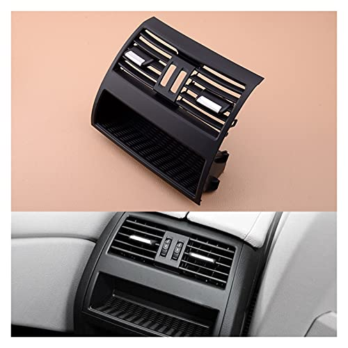 Meas Consola Trasera Center Console Outlet de ventilación de Aire Fresco A/C Grille Cubra el Panel Ajuste para BMW 5 Series F10 F11 F18 520i 520d 64229172167