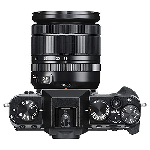 Fujifilm X-T30 Mirrorless Digital Camera w/XF18-55mm F2.8-4.0 R LM OIS Lens - Black