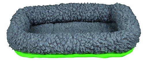 Trixie 62702 Kleintierkuschelbett, 30 × 22 cm, grau/grün