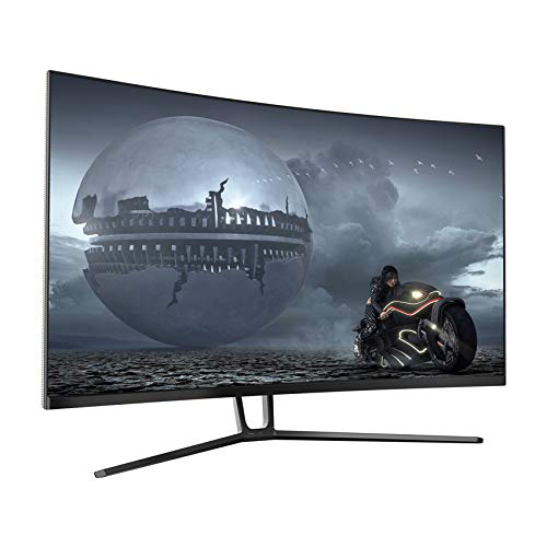 "LC-Power LC-M32-QHD-144-C-V2 Monitor Gaming 32"" Curvo, Display 16:9 QHD (2560 X 1440), Freq 144Hz, 4ms, Curvatura 1500R, FreeSync, 3 HDMI, Display Port 1.2"