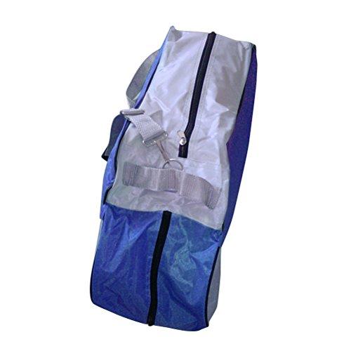 Patins à glace Sac winomo à roulettes Baskets poches skatet cendres avec bandoulière réglable (Bleu)