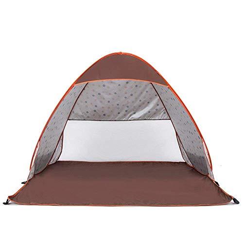 LHQ-HQ Tienda de la familia acampar al aire libre velocidad de apertura automática Carpas Fit 2-3 Persona 3 Estación Ligera Carpa impermeable familia Deportes Montañismo yendo de excursión la tienda a