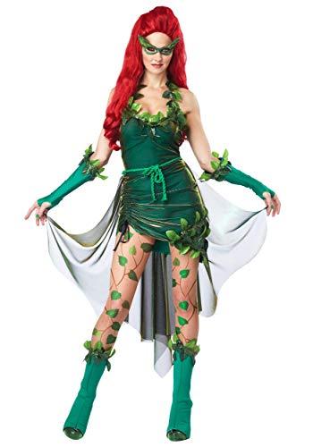 California Costumes 1289 LETHAL BEAUTY Déguisement de lierre Poison Taille adulte Vert XS