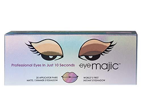 Eye Majic - Fard à paupière instantané - application facile en 10 secondes/résultats professionnels - 20 paires/4 couleurs - Passion