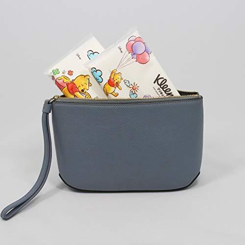 まとめ買い クリネックス ローション ディズニー プー ポケットティシュー 20枚(10組) 4個パック ×6パック入り
