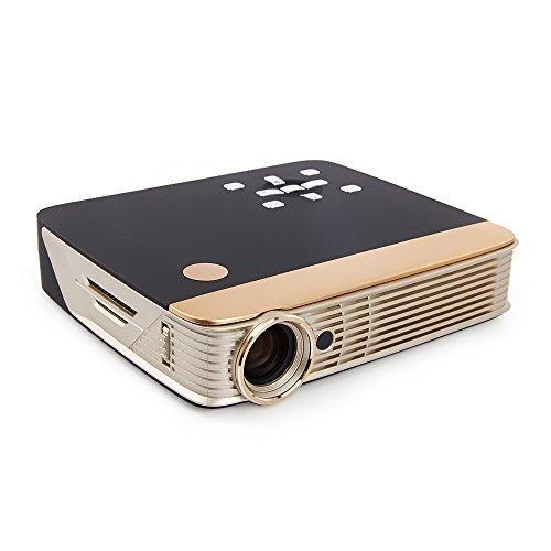 mdi Mobile 3D Full HD DLP Projektor Cinema für Android Apple iPhone (HDMI, MHL, Kontrast 10000:1, 1280 x 800 Pixel, 300 Lumen) 8 GB