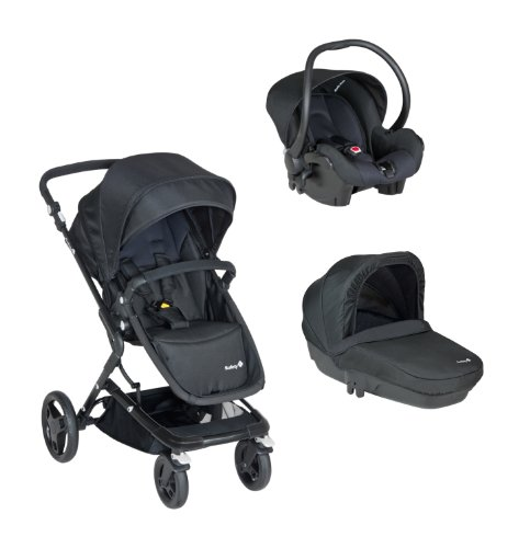 Safety 1st Poussette Combinée Pack Trio Kokoon Full Black  - Collection 2016