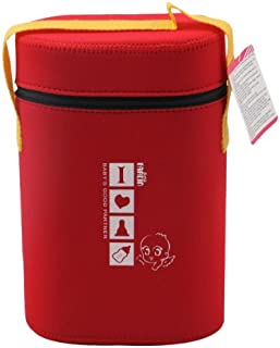 Farlin BF-225 Insulated Double Bottle Holder, Red