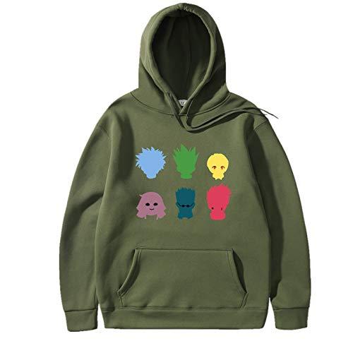 BTS Crop Top Long Sleeve Jumpers Street Fashion for K Pop Crewneck Sweatshirt Brown Hoodie Kid Unisex M