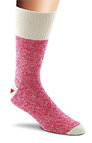Fox River Original Rockford Red Heel Leichte Affen-Socken (2er-Pack), Pink, Größe M