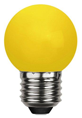 Tecstar Star Décoration de Jardin, LED Decoration, E 27, Polycarbonate, Jaune, 4,5 x 4,5 x 6,8 cm, 336–40–1